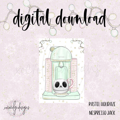 DIGITAL: Pastel Holidaze Nespresso Jack (Pocket Plus Rings)