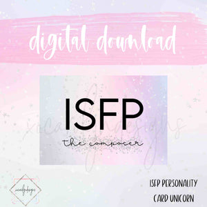 DIGITAL: ISFP - The Composer Unicorn (B6 Rings)