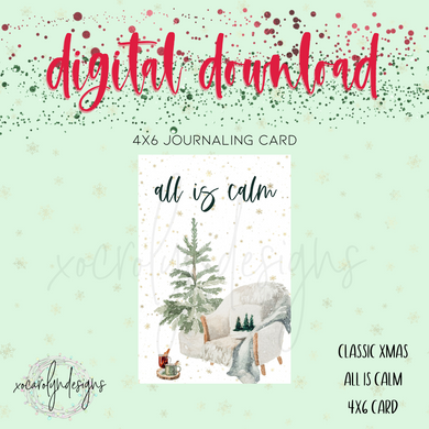 DIGITAL: Classic Christmas All Is Calm