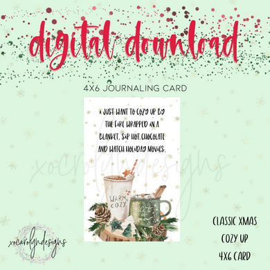 DIGITAL: Classic Christmas Cozy Up