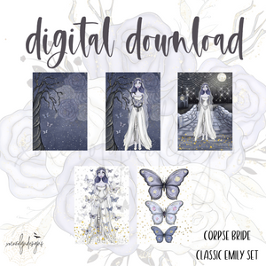 DIGITAL: The Corpse Bride Classic Emily Set (Mini HP)