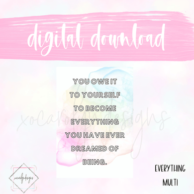 DIGITAL: Everything Multi (Classic HP)