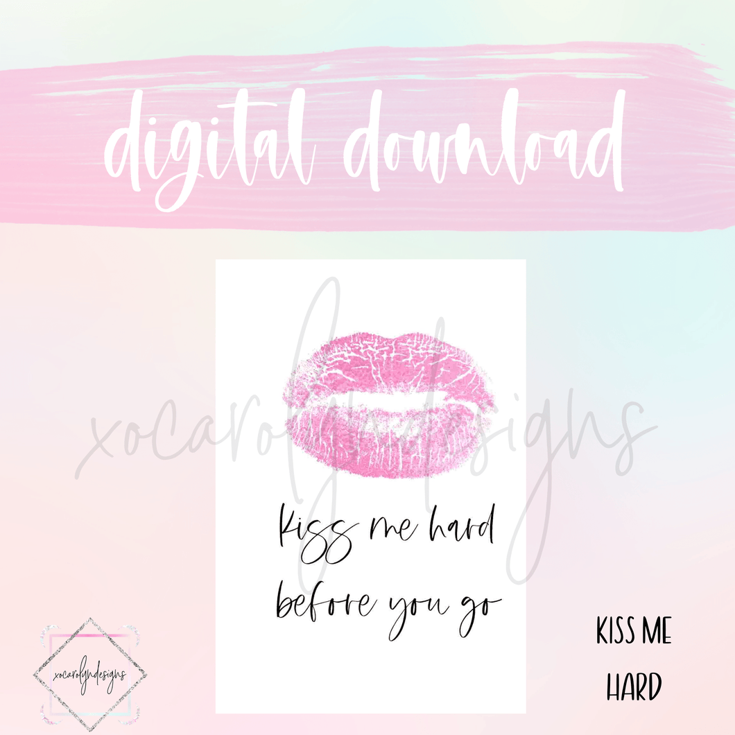 DIGITAL: Kiss Me Hard (A5 Rings)
