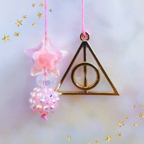 WIZARDING WORLD: DH Gold Pink