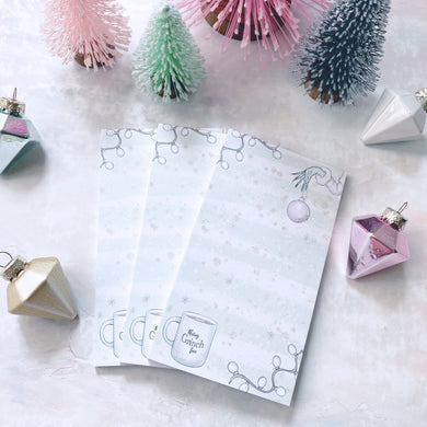 HOLIDAY RCD COLLAB: Merry Grinchmas Notepad
