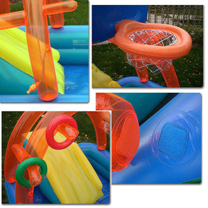 New Water Slide And Inflatables Pool For Kids