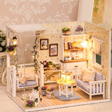 Doll House Furniture Diy Miniature 3D Wooden Toys for Children