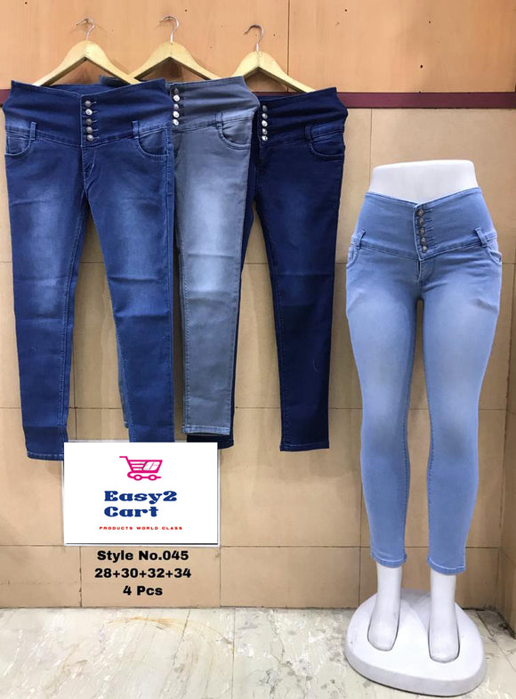 Low Waist Ankle Length Premium Jeans 10 - Easy2cart.com