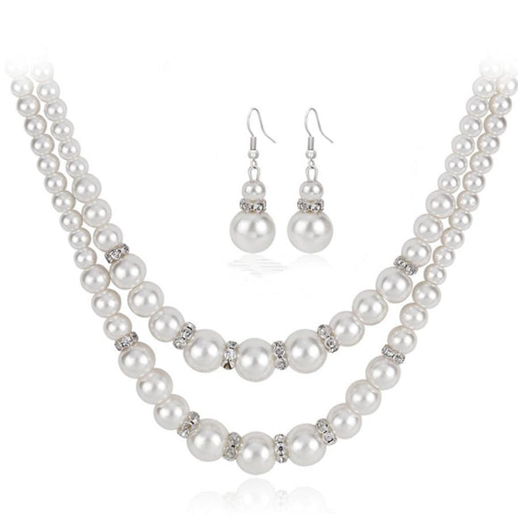 Pearl jewelry sets for women - Easy2cart.com