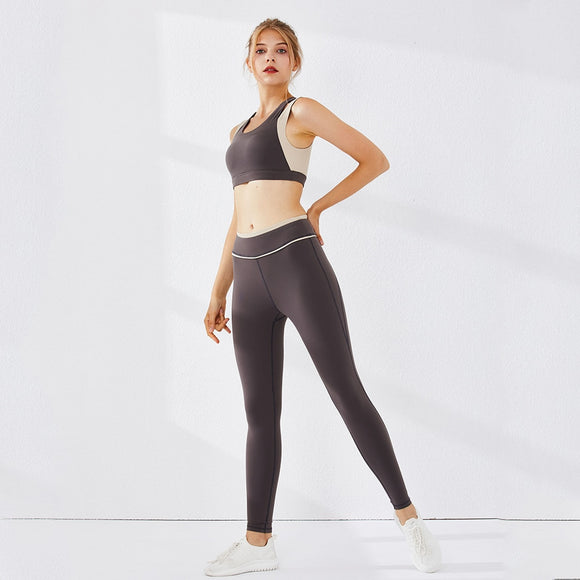 High Waist Skinny Sports Tracksuit - Easy2cart.com