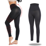 Black nylon high waist leggings - Easy2cart.com