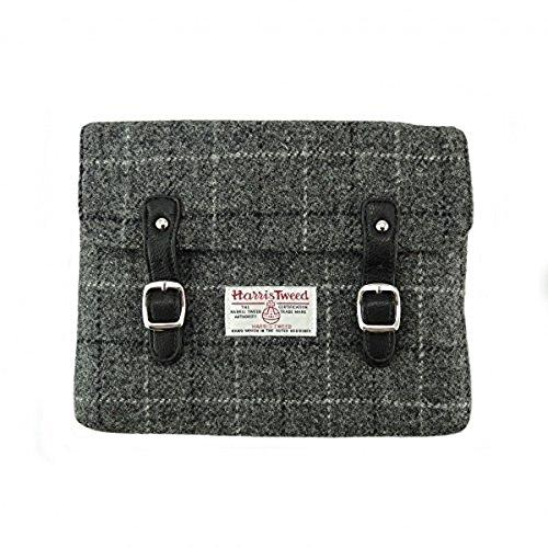 100% Authentic Harris Tweed iPad / Tablet Holder (Grey Check)