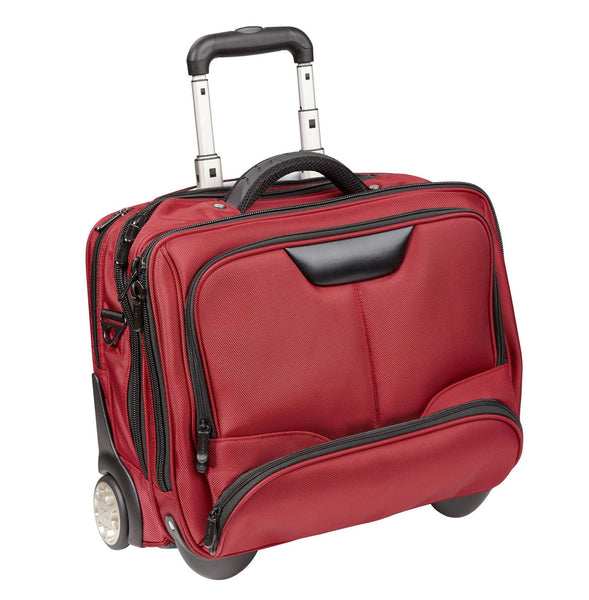 'Business Trolley Brand New (3) D456NY Red Laptop Bag 17 Nylon Case/lefox