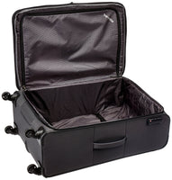 """Derby"" Suitcase: Classic, Robust and Lightweight Soft Luggage case with 4 Wheels in 4 Colours"