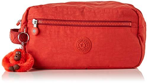 fast color popular style high quality materials Kipling AGOT Toiletry Bag, 26 cm, 3 liters, Red (Active Red)