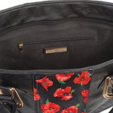 'Thoughts Of Remembrance' Poppy Art Handbag by The Bradford Exchange