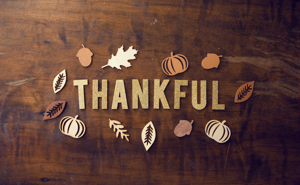 thankfulness and gratitude aren't just for thanksgiving