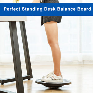 StrongTek Wobble Balance Board, with Durable Non-Skid TPE Bump Surface & Bottom