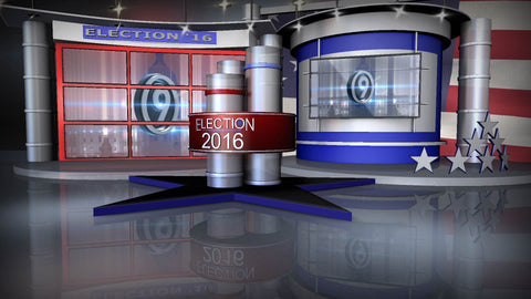 Election 2016 Virtual Set (XPression)