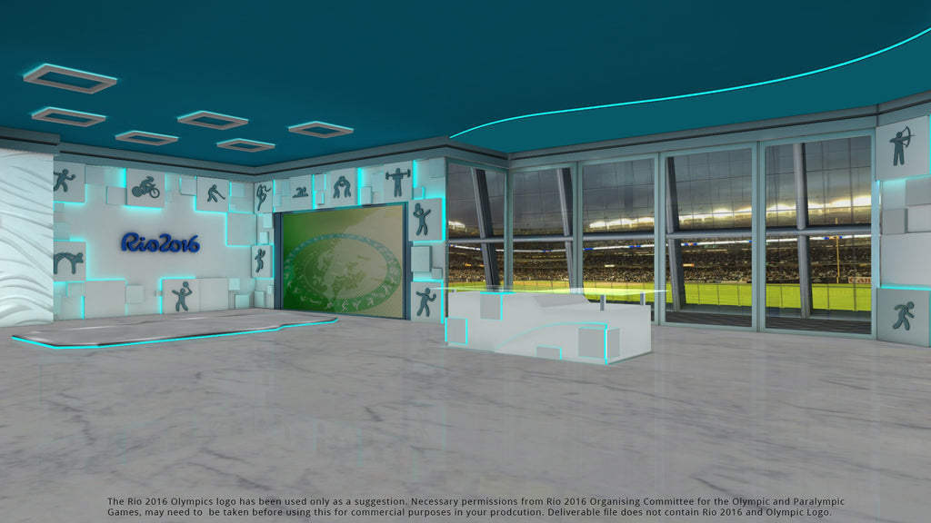 Olympic Virtual Set (XPression)
