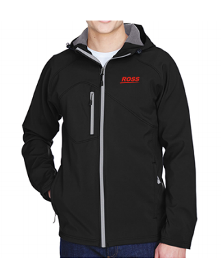 Ross Men's Soft Shell Jacket w/ Hood