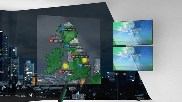 Euro Weather - Graphics & VR Set Bundle (XPression)