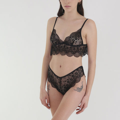Candice Lace Set in Black
