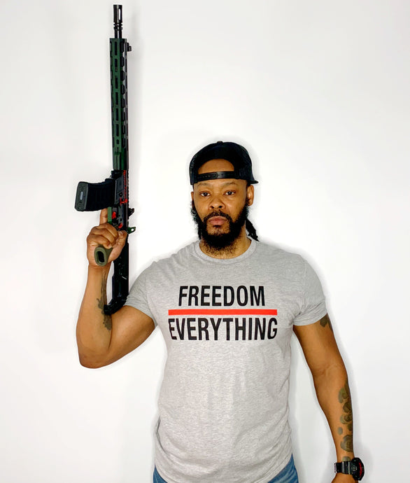 Freedom Over Everything Tee