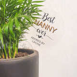 Personalised Pot Plant Stick