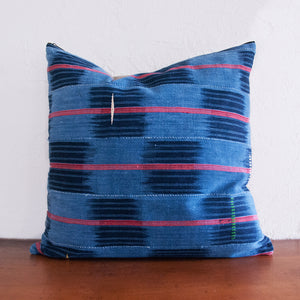 Multicolor African Indigo Pillow