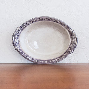 Vintage English Footed Platter