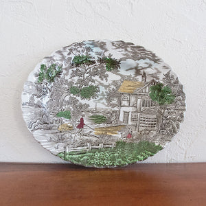 Staffordshire Hunter Platter