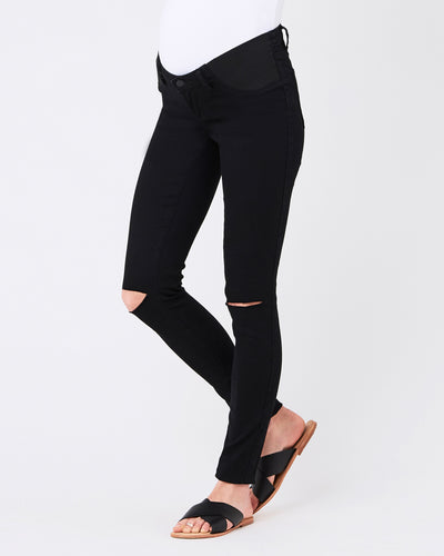 Maternity Isla Distressed Jegging