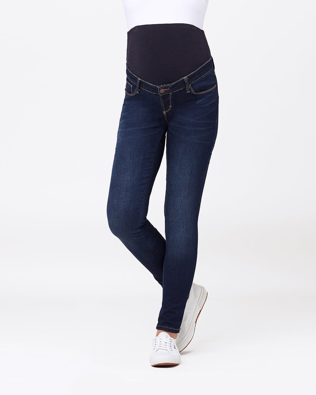 Maternity Rebel Jegging - Indigo