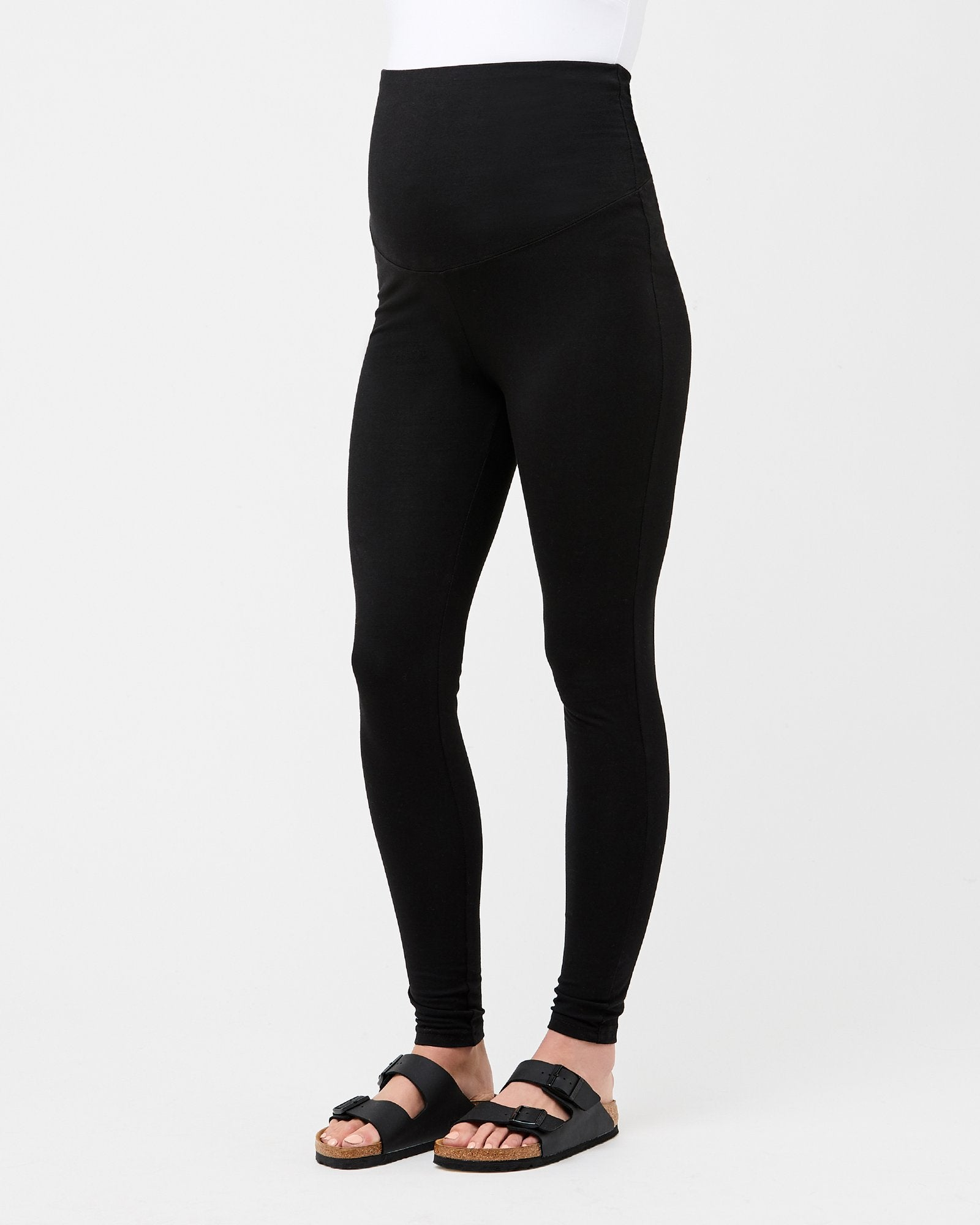Over Tummy Maternity Black Legging