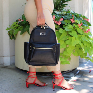 Itzy Ritzy Mini Black Diaper Bag