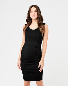 Cocoon Maternity Dress Black