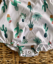 Load image into Gallery viewer, Trendy Little Cactus Romper