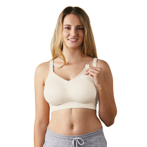 Body Silk Nursing Bra - Antique White