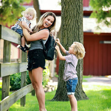 Load image into Gallery viewer, Itzy Ritzy Mini Black Diaper Bag