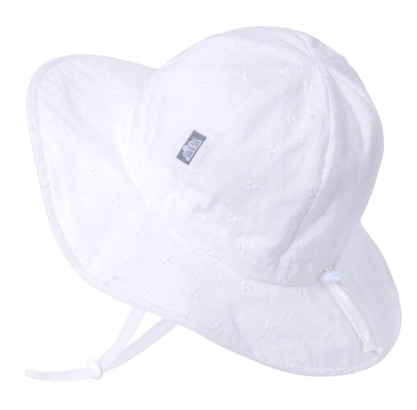 Jan & Jul Cotton White eyelet Hat