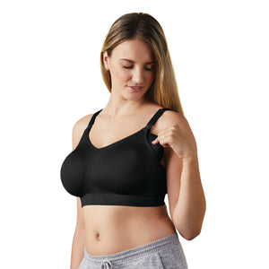 Body Silk Nursing Bra - black