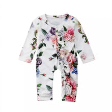 Load image into Gallery viewer, Trendy Floral Romper