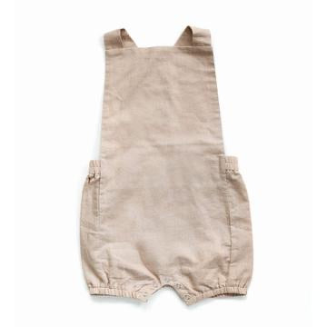 Vintage Linen Baby Shorts