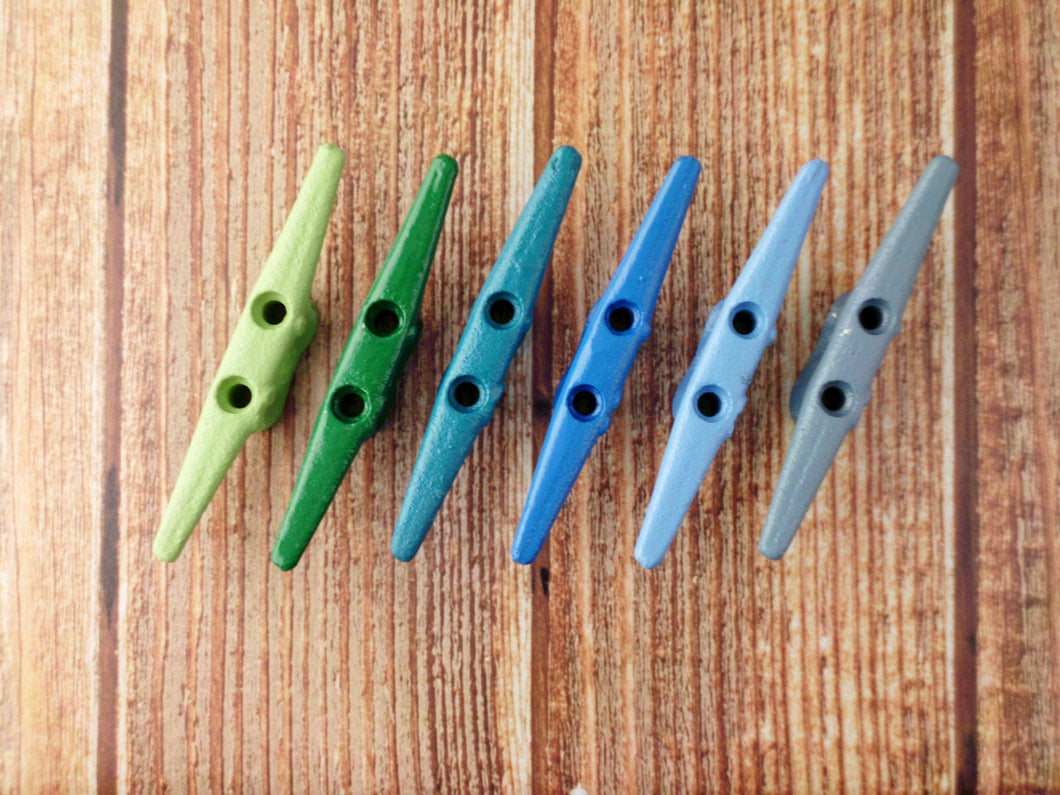 Boat Cleat Pick Your Color 6 inch Primitive Pool House Nautical Island Decor Great For the Beach House or Lake Home