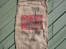 Load image into Gallery viewer, Burlap Coffee Bag, Dunn Bros Gunny Sack, The Bold Standard Espresso, Advertising, Limited Quantity