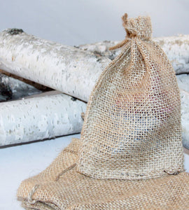 25 Burlap Gift Bags For Party Favors 4x6 Sacks With Drawstring Rustic Wedding Party Reception Supplies