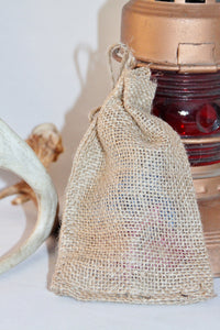 30 Burlap Gift Bags 6x10 For Party Favors With Drawstring Jute Rustic Wedding Party Reception Supplies