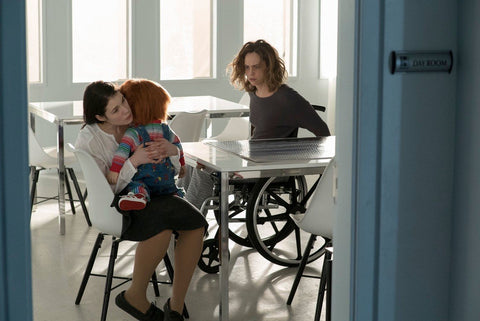 Cult of Chucky Nica in hospital