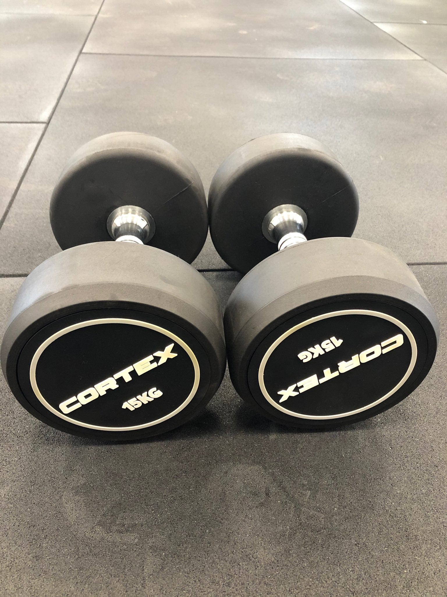15kg Pro Style Fixed Dumbbell Pair